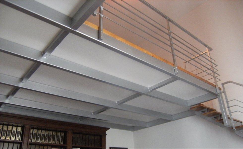 Soppalchi e scale su misuragiannerini valerio for Disegni di uffici di garage